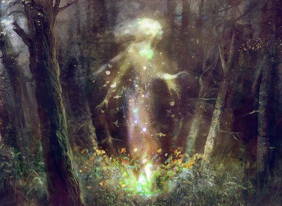 Встречи с лесными духами в наше время