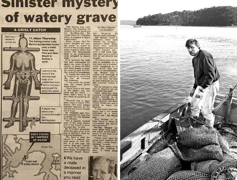 Нераскрытое дело распятого трупа в Австралии