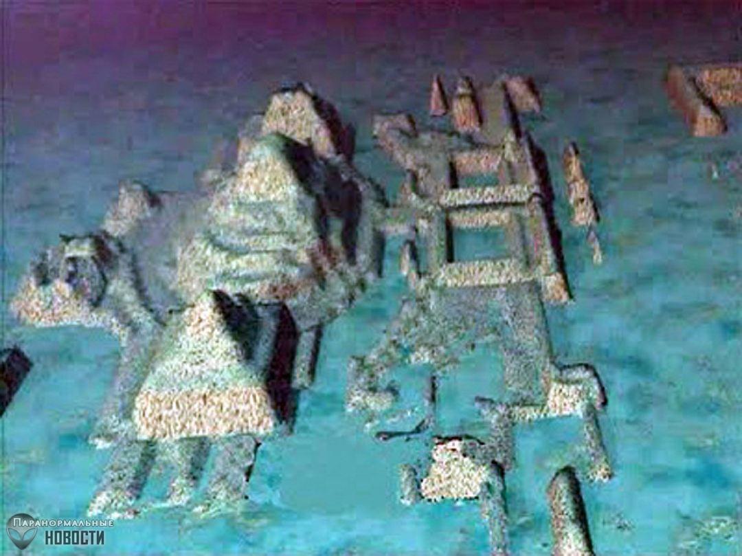 Загадка 50-тысячелетнего подводного города с пирамидами у берегов Кубы
