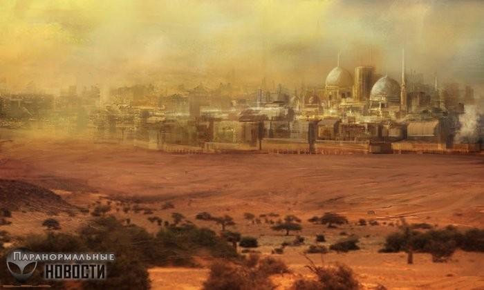 Песчаная Атлантида или погибший в песках Аравии загадочный древний город