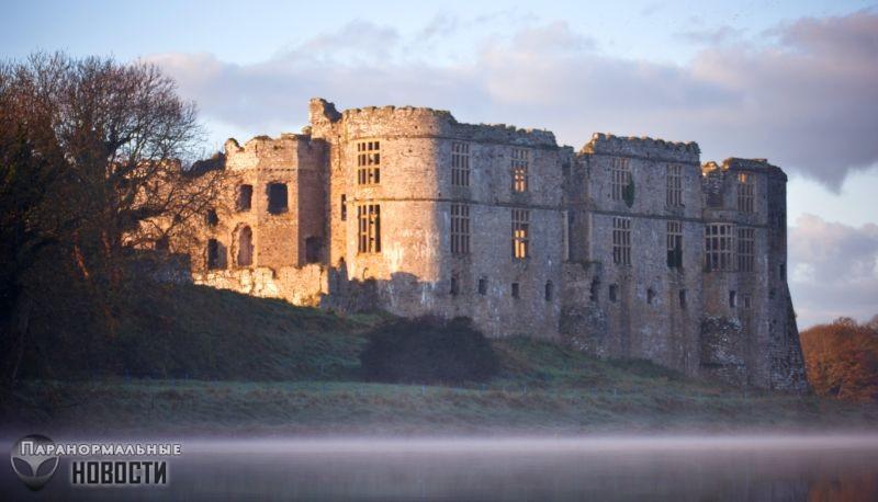 Призрак обезьяны-убийцы в древнем замке Уэльса