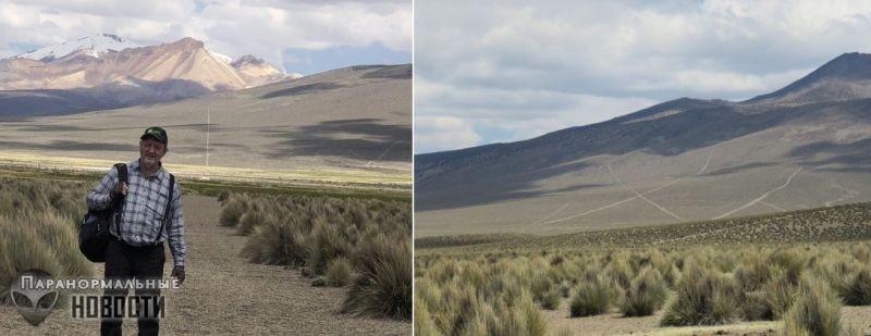 Линии Сахама - Самая большая загадка Боливии
