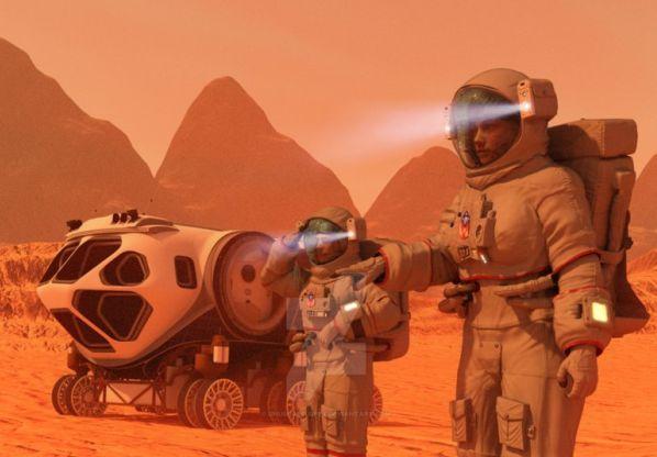 Риск смерти от радиации делает полеты на Марс невозможными