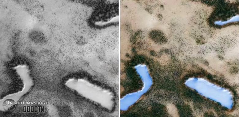 Конспирологи заподозрили NASA в сокрытии данных о Марсе