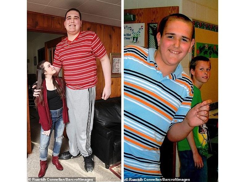 Гигант, ростом в 240 см, пытается найти свое место в жизни