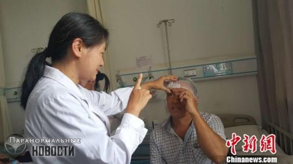 Китаец 2 месяца страдал от головных болей и причина оказалась совершенно неожиданной