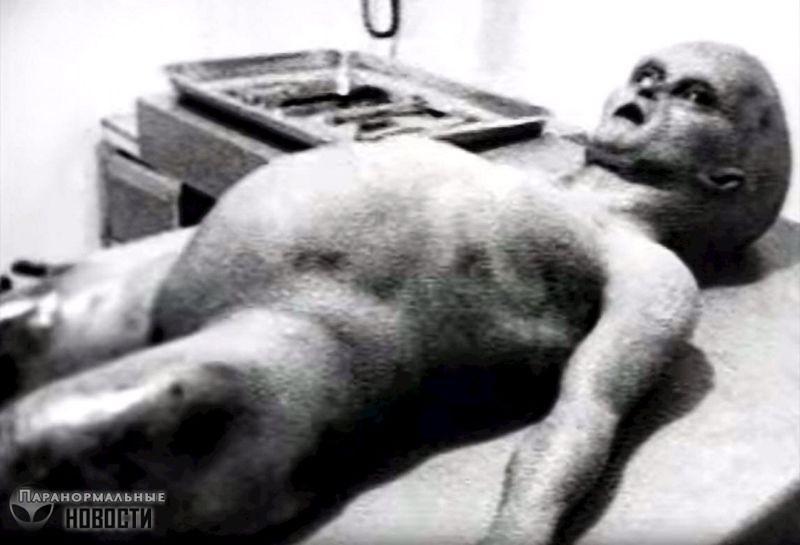Знаменитое видео о вскрытии пришельца подделка, но основанная на реальном видео