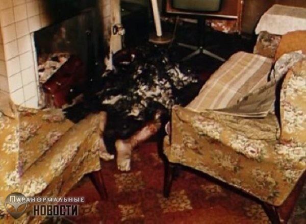 Случай самовозгорания ирландца Майкла Фаерти
