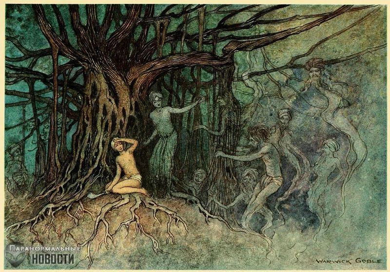 Земля Вампиров: Мифология Индии под завязку наполнена людоедами и кровопийцами