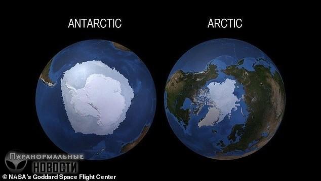За три года Антарктида потеряла лед на площади размером с Мексику