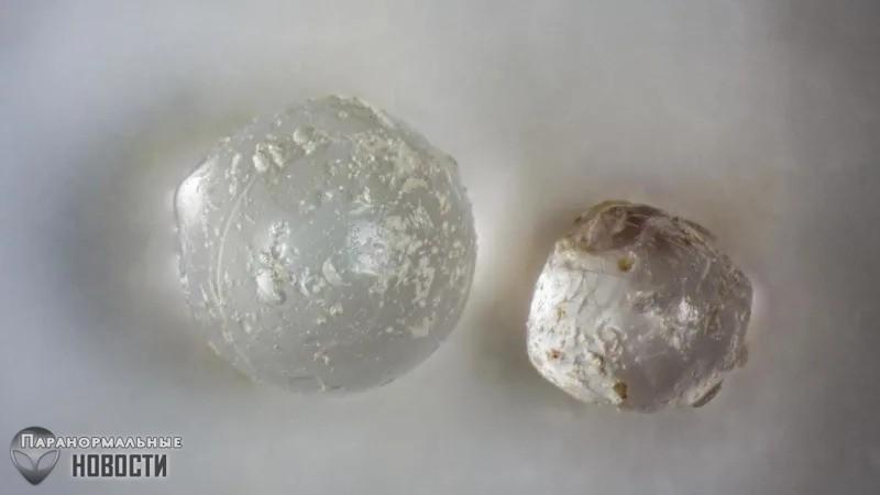 Загадка метеоритного «жемчуга»