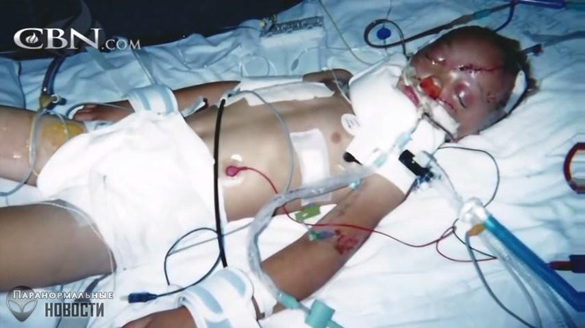 Мальчик умирал три раза и видел «на том свете» погибшего отца и нерожденных брата и сестру