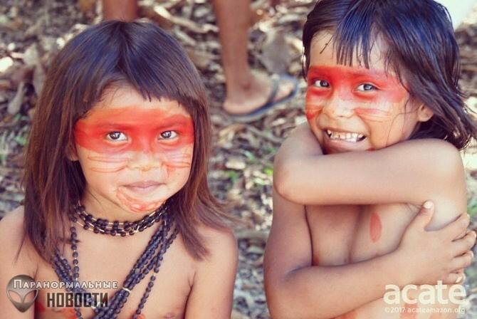 Амазонское племя, использующее телепатию