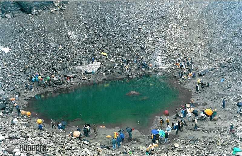 Странное Озеро Скелетов в Индии загадало ученым еще одну загадку
