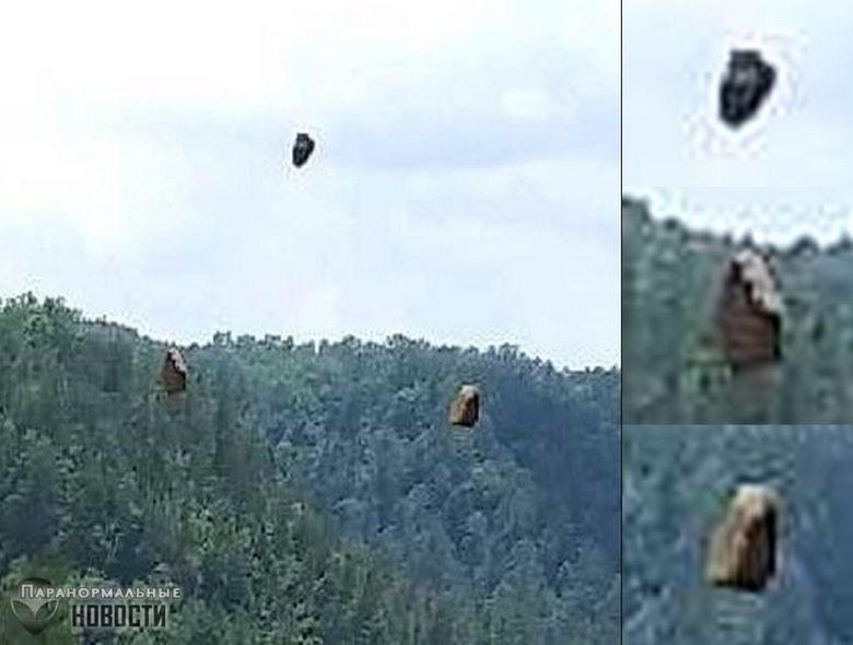 Сбой в Матрице? Турист заснял парящие в воздухе камни
