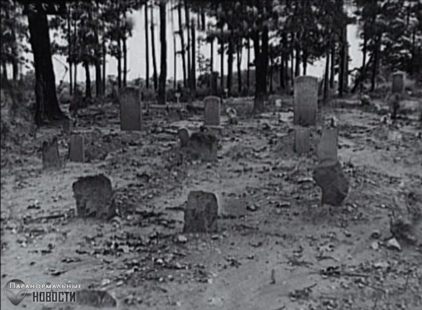 Странные события в домах, построенных на старом кладбище в Техасе