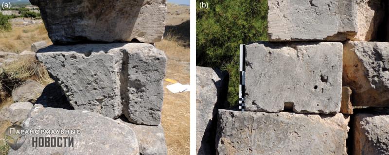 В древнегреческих храмах нашли следы работы неизвестных механизмов