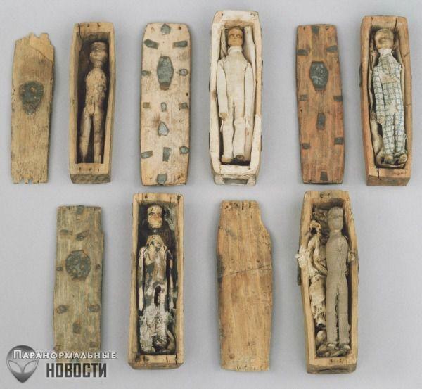 Нерешенная историческая загадка крошечных гробов, найденных в Шотландии