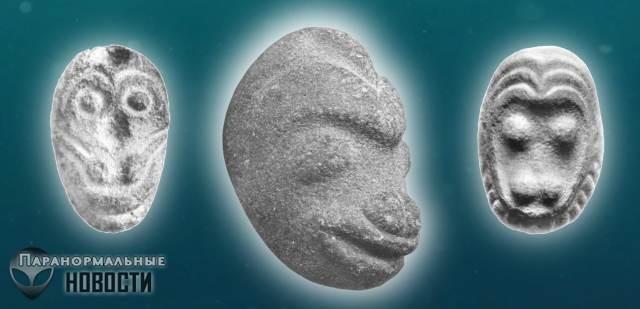 Археологическая загадка: Каменные обезьяньи головы из Орегона
