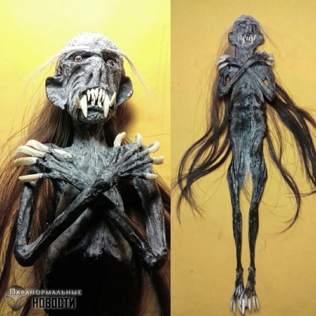 Кого изображают жуткие индонезийские куклы-мумии?