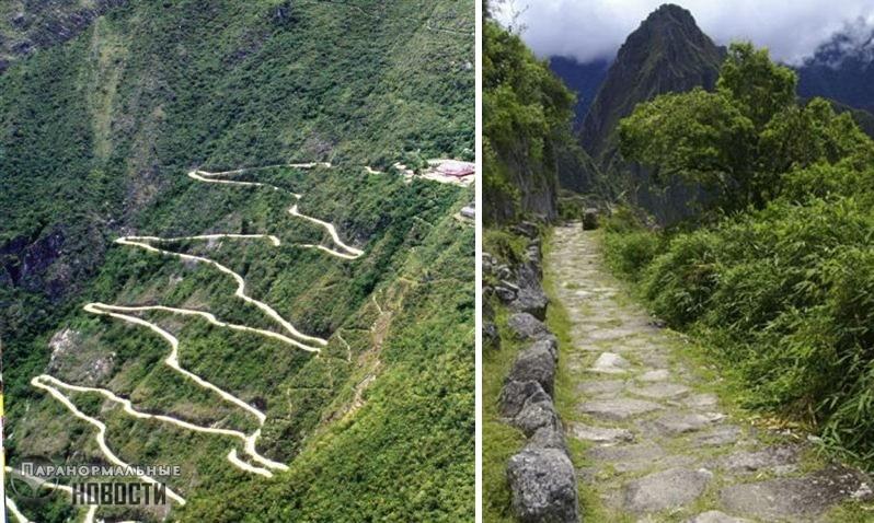Всего за 100 лет империя инков построила свыше 40 тысяч километров дорог