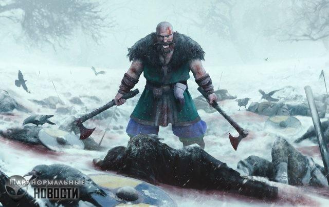 Как викинги входили в яростный транс берсерка перед битвами