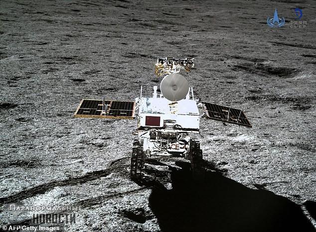Китайцы пытаются понять, что за странное гелеобразное вещество они нашли на Луне