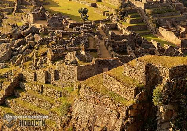 Город инков Мачу Пикчу был специально построен на перекрестке разломов