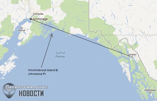 Как на Аляске в 1972 году исчезли три американских политика, которых так никогда и не нашли