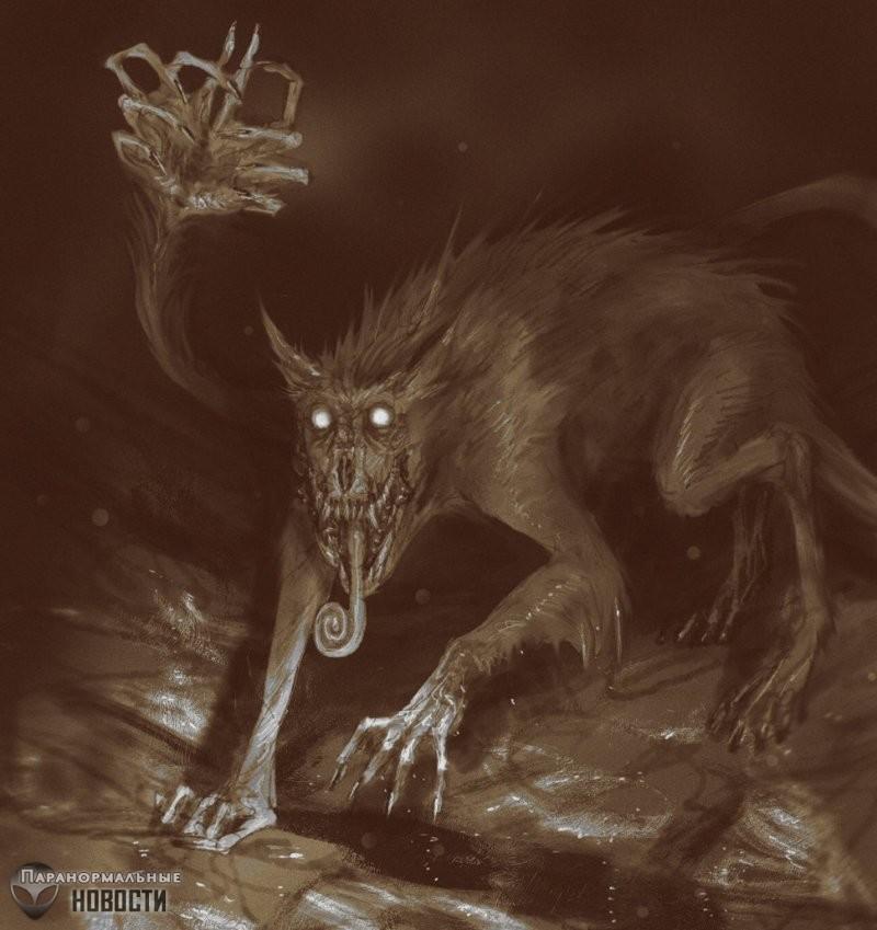 Таинственный хищный Ахуизотль из ацтекского озера