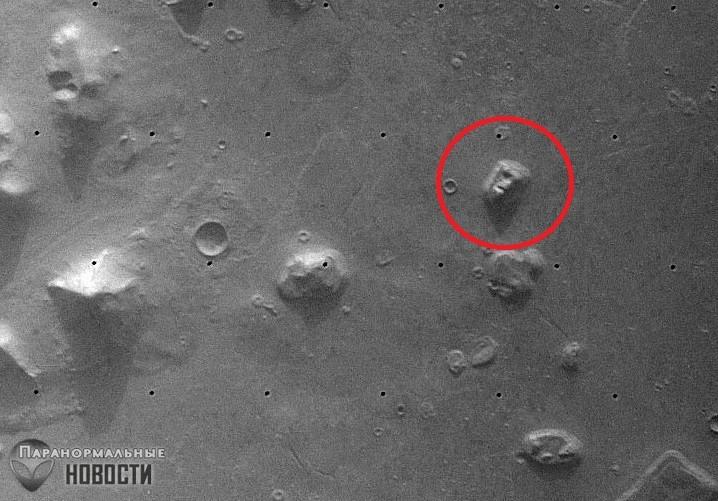 Гуляющие по Марсу астронавты и другие теории заговора о Красной планете