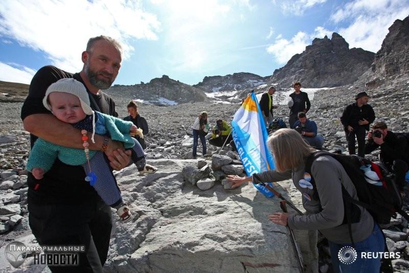 Швейцарские ученые встревожены: За 5 лет в Альпах растаяло 10% ледников