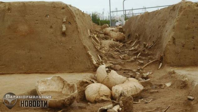 Шесть жутких находок археологов, связанных с древними человеческими скелетами