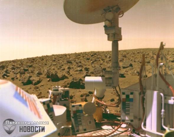Бывший ученый НАСА убежден, что жизнь на Марсе обнаружили еще в 1976 году