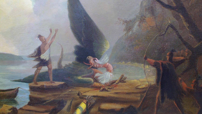 Загадочная индейская Паяса: Подводный монстр или огромная птица?
