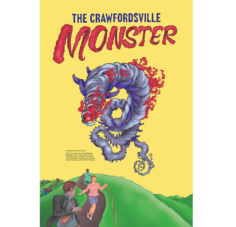 Монстр из Кроуфордсвилла: Загадочный летающий Змей, пугавший жителей Индианы