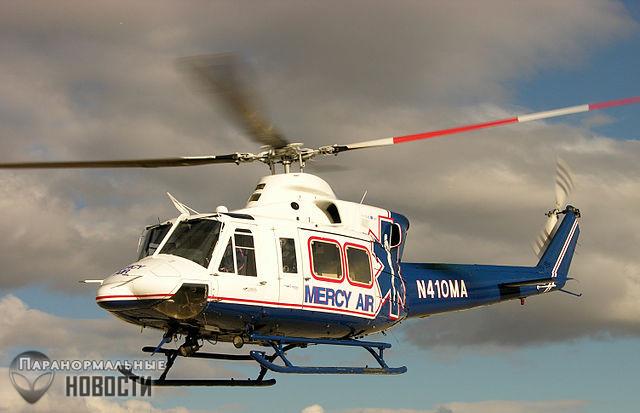 Женщина-медик погибла в аварии вертолета, а через несколько часов ее увидели на дороге