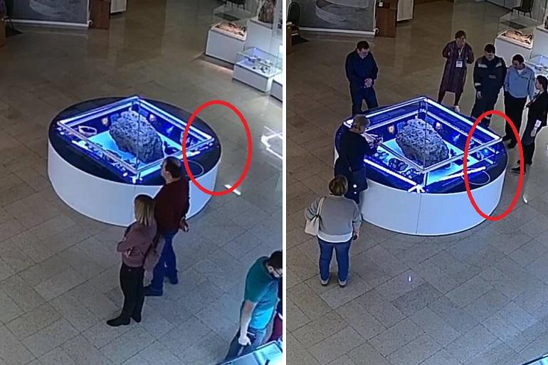 Аномалия в музее: Сам собой начал двигаться купол знаменитого челябинского метеорита