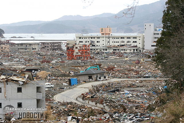 Жуткие видения в местах крупных трагических катастроф
