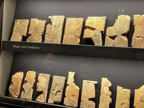 В Ираке нашли 2700-летнее изображение рогатого демона