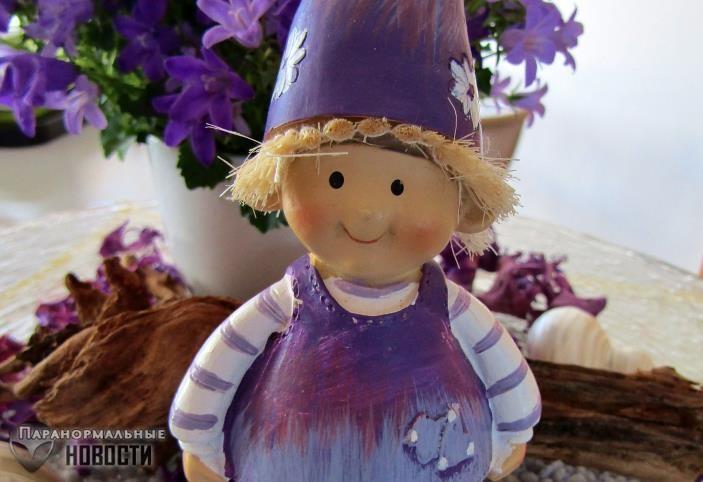 Маленькое фиолетовое существо в лохмотьях приходило по ночам к детям