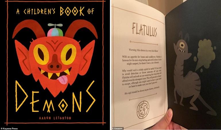 В США выпустили детскую книгу про демонов с указанием вызывать их для помощи