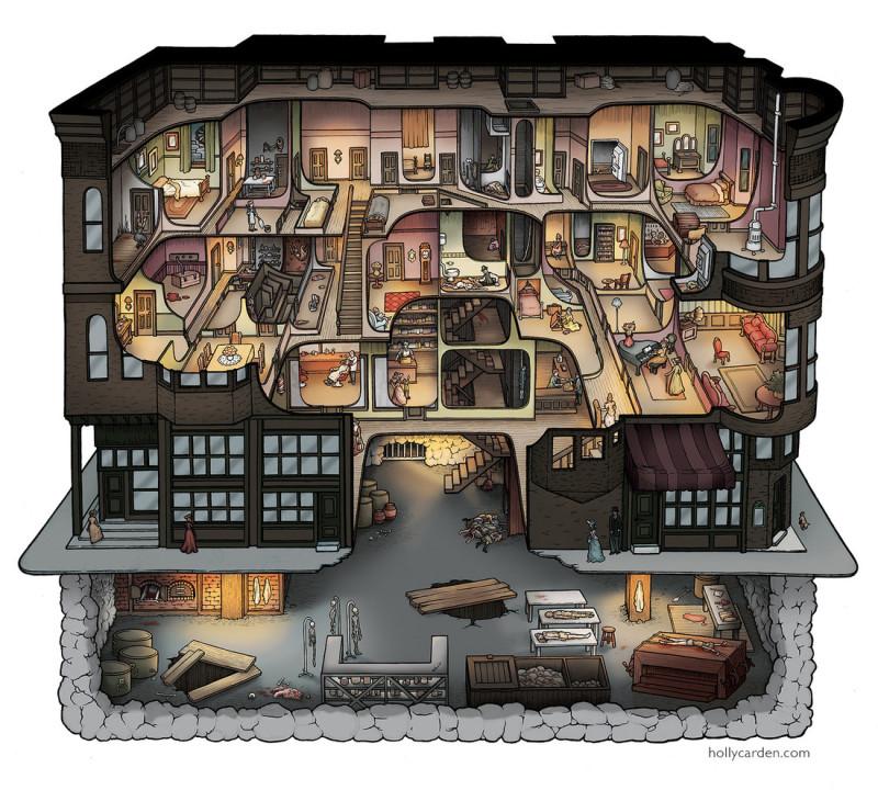 Жуткие факты о Генри Говарде Холмсе и его «Гостинице Смерти»