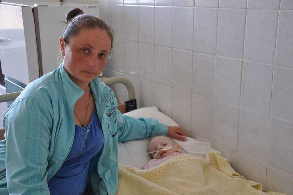 8-летняя девочка из Украины скончалась от старости