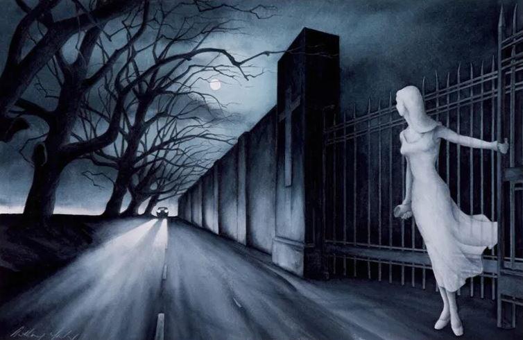 Призрачная автостопщица или легенда о танцующей Мэри