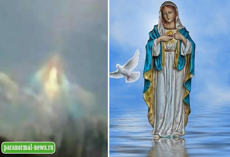«Защити нас от коронавируса!»: В Аргентине засняли небесную Деву Марию