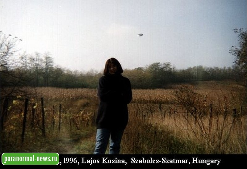 Малоизвестные фотографии НЛО, которые были признаны подлинными