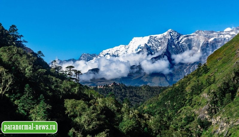 Забытая история про группу йети из Непала