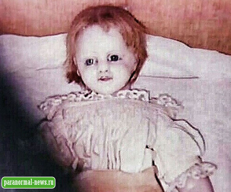 Одержимая кукла особняка Одюбон