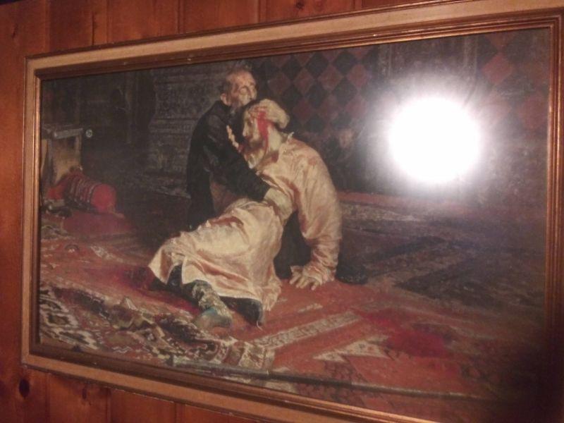 Мужчина купил картину с Иваном Грозным и тут же с ним произошел страшный ночной инцидент